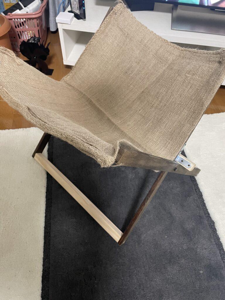 自作で作った薪おき台